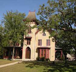 Fig.28, Gothic Revival style, LeDuc mansion