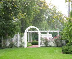 Fig.33, Gateway garden feature